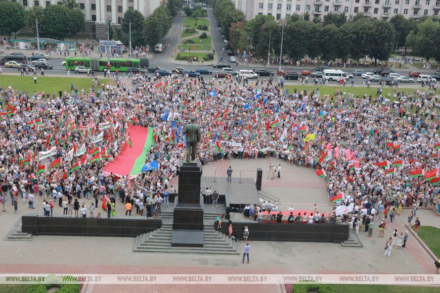 Белорусский разлом и банкротство левых
