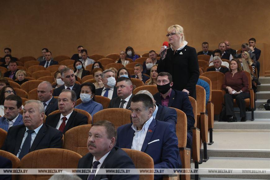 Во время пленарного заседания