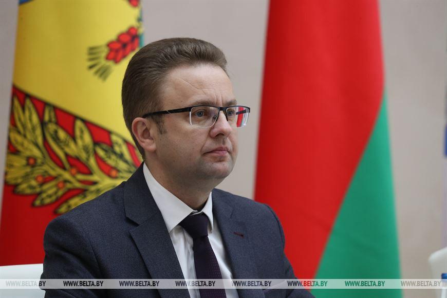 Заместитель председателя Могилевского облисполкома Руслан Страхар