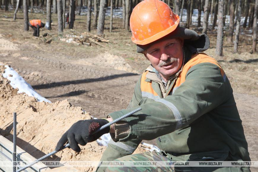Монтажник СУ № 243 Иван Ковалев