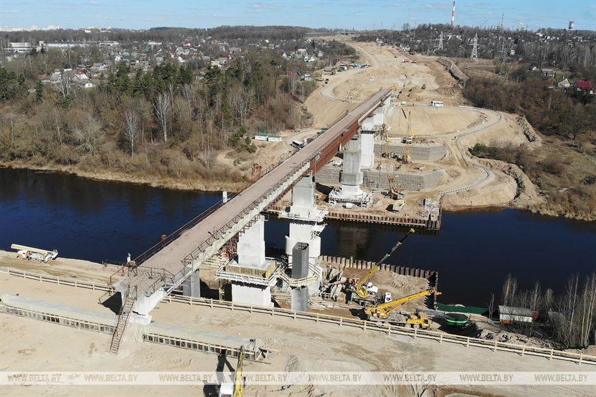 Реконструкция автомобильного моста через Неман