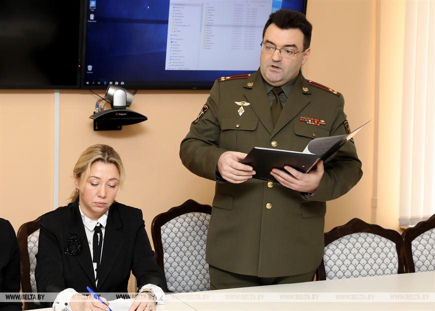 Военный комиссар военного комиссариата Оршанского и Дубровенского районов Игорь Литовчик