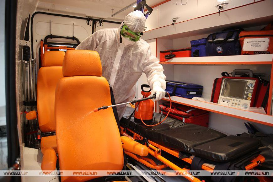 Как обрабатывают автомобили скорой помощи после каждого пациента