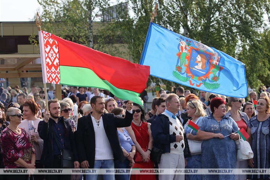 Во время церемонии открытия