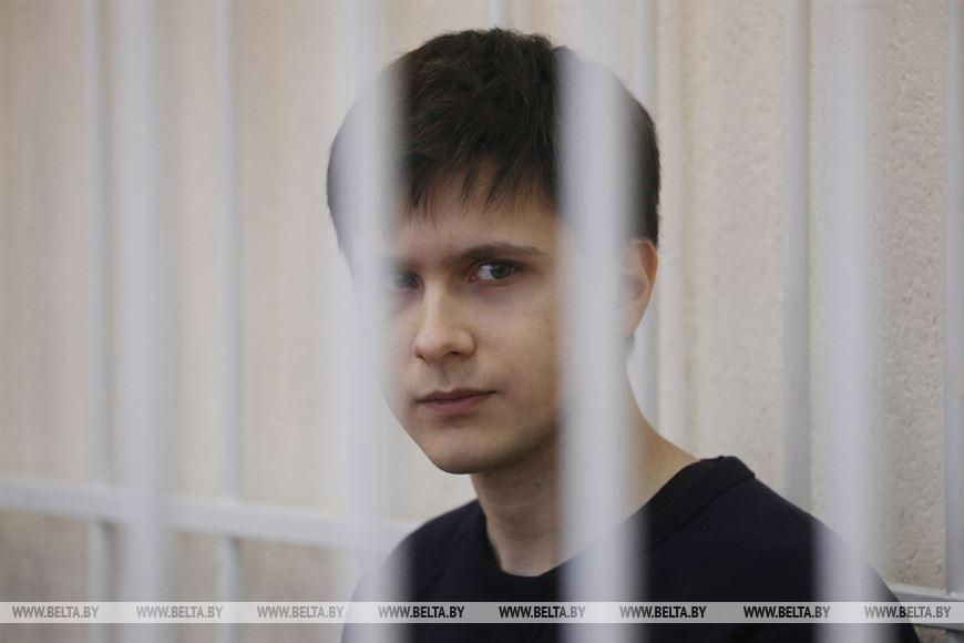 Обвиняемый Максимилиан Сапронов