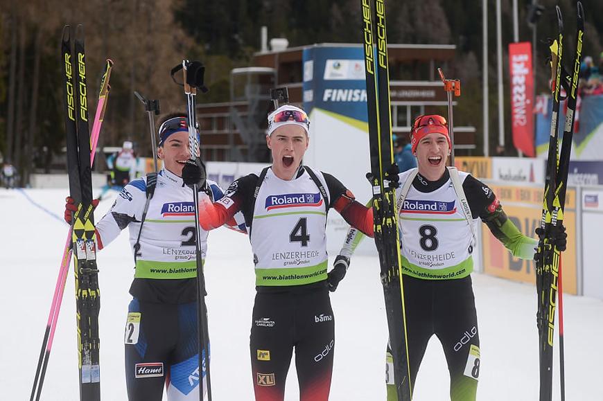сборная словении по биатлону фото черные
