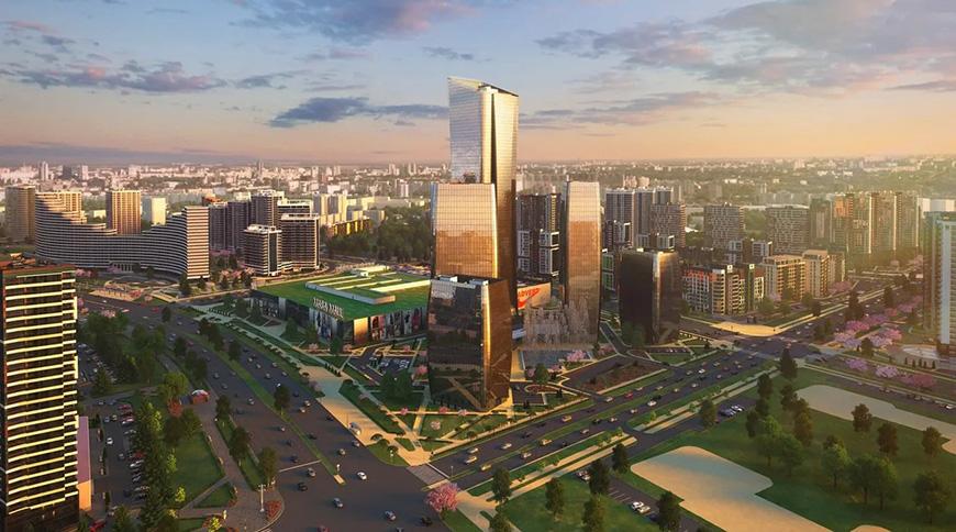 Так будет выглядеть Международный финансовый центр в Минске