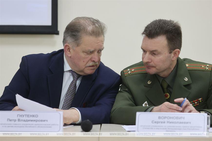 Петр Гнутенко и Сергей Воронович