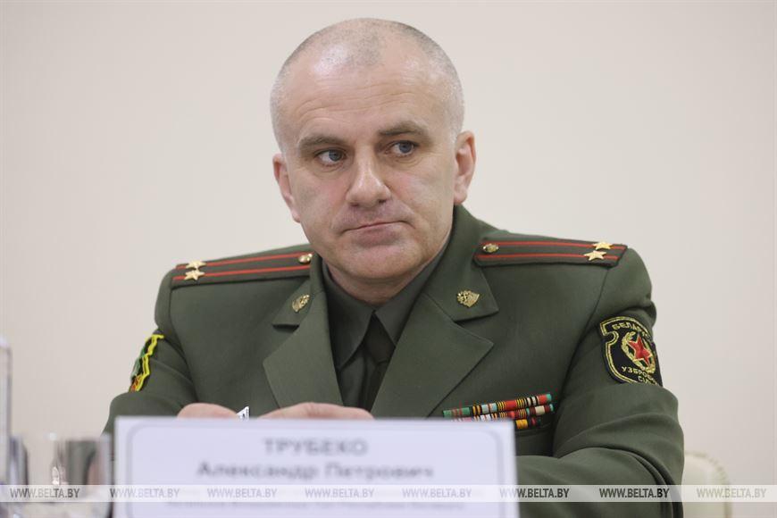 Командир 52 отдельного специализированного поискового батальона подполковник Александр Трубеко