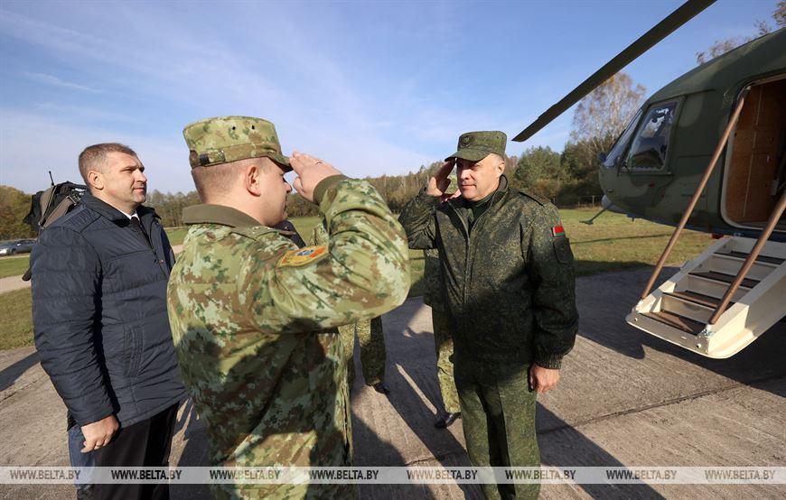 Накануне рабочий визит в Каменецкий район  совершил Госсекретаря Совбеза А.Вольфович (+ВИДЕО)