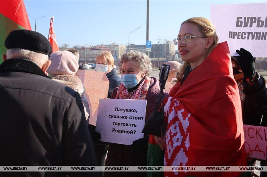 Пикет возле Генерального консульства Республики Польша в Гродно