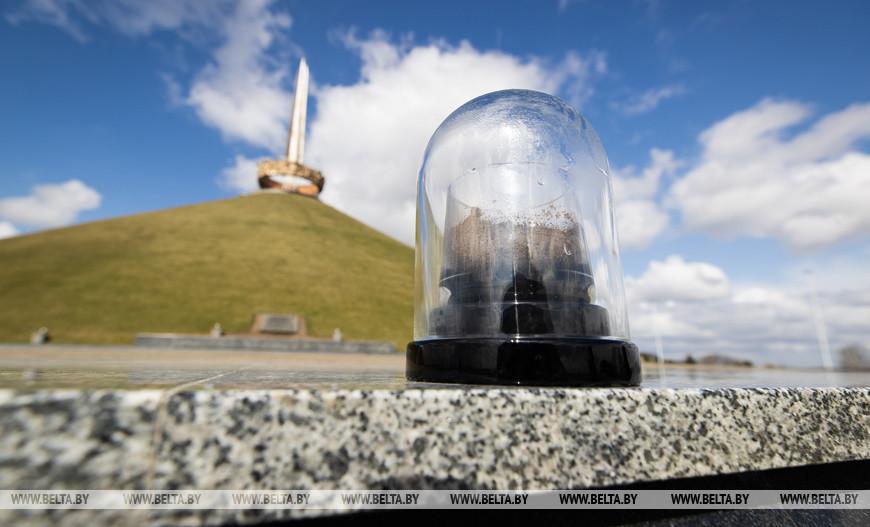 Капсула с землей с Кургана Славы, 2021 год