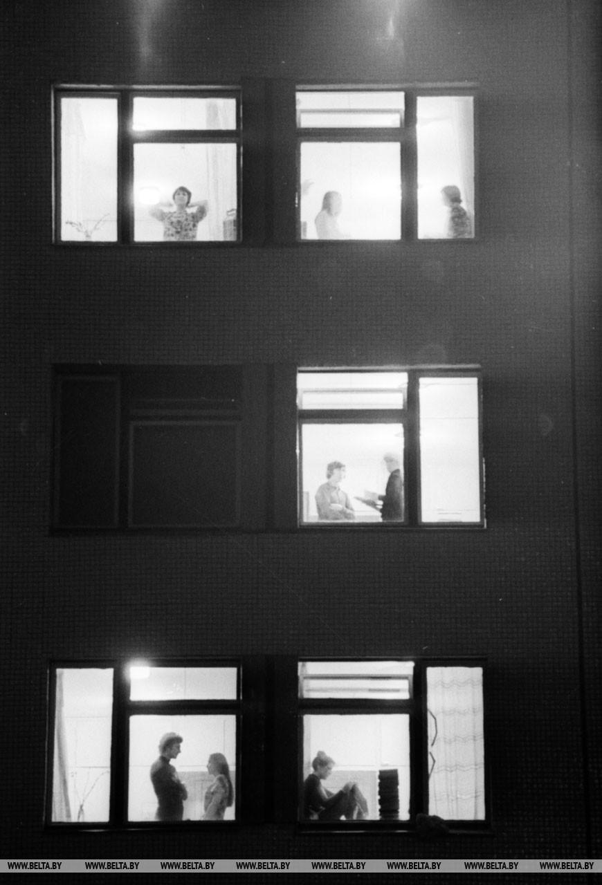Белгосуниверситет имени В.И. Ленина. Общежитие БГУ №2, 1978 год