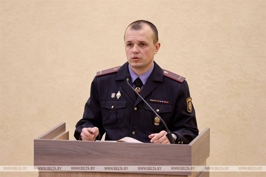 Начальник РОВД Дмитрий Бородавко
