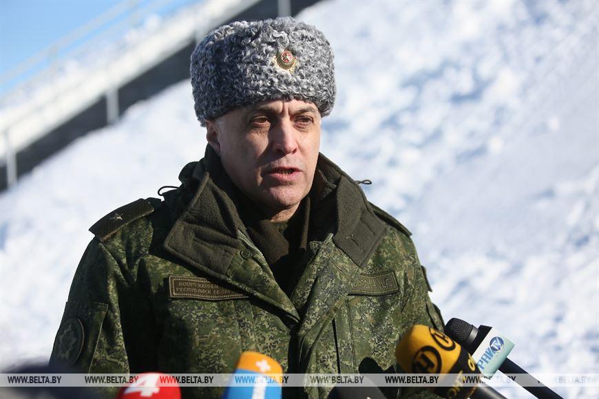 Государственный секретарь Совета безопасности Беларуси Александр Вольфович