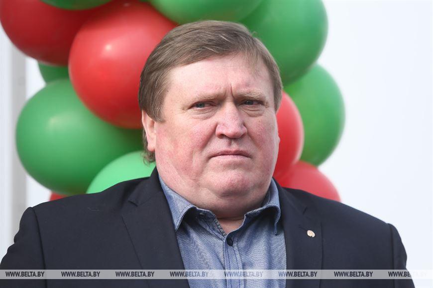 Председатель Белорусской теннисной федерации Сергей Тетерин