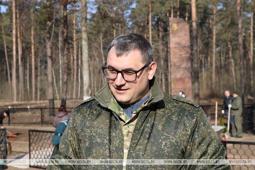 Заместитель председателя Гомельского облисполкома Александр Барановский