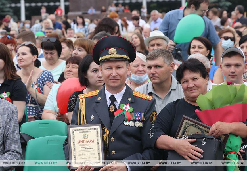 Виталий Пристромов и Мария Захаренко