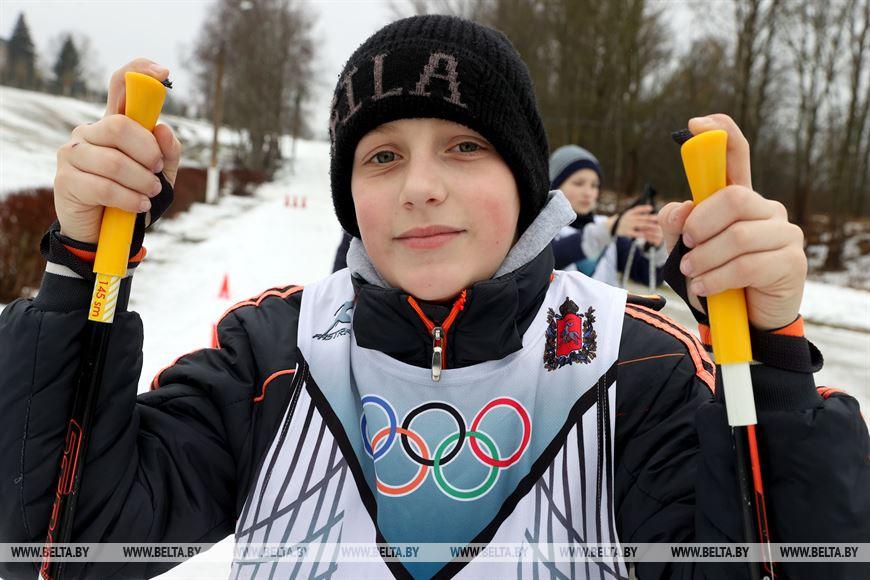 Участник соревнований Александр Обеяков из Бешенкович