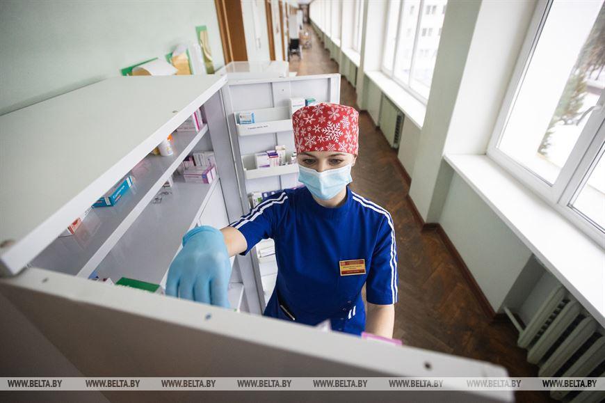 Медсестра отделения неврологии №1 Наталья Горянцева