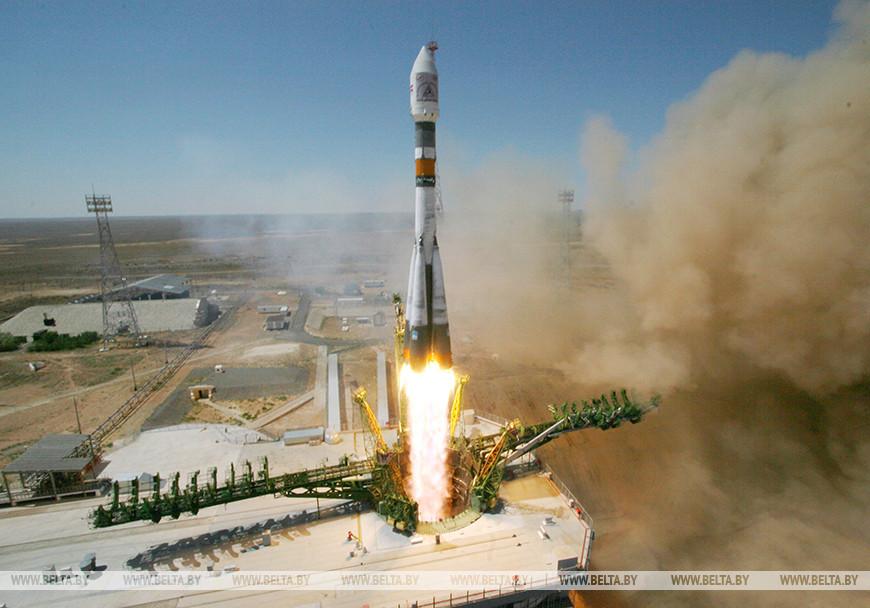 Запуск кластера спутников