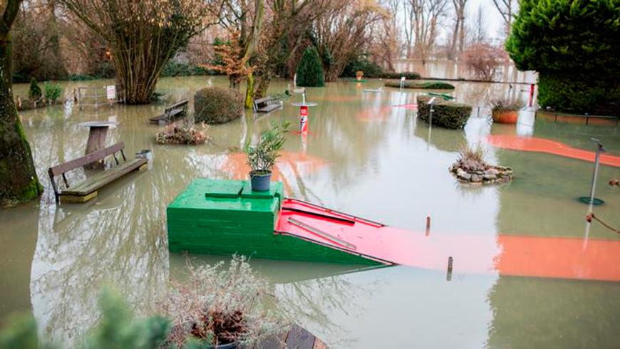 ФОТОФАКТ: Наводнения в Германии   Новости Беларуси БелТА