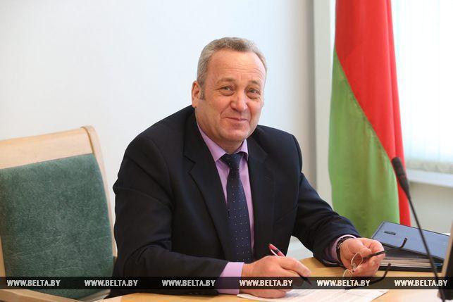 Виктор Сидорович директор департамента государственной инспекции труда Министерства труда и социальной защиты